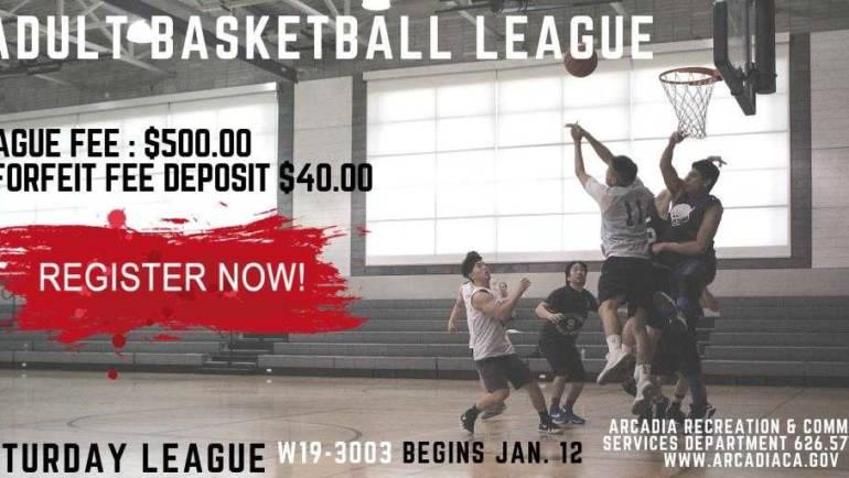 City of Arcadia: Adult Basketball League