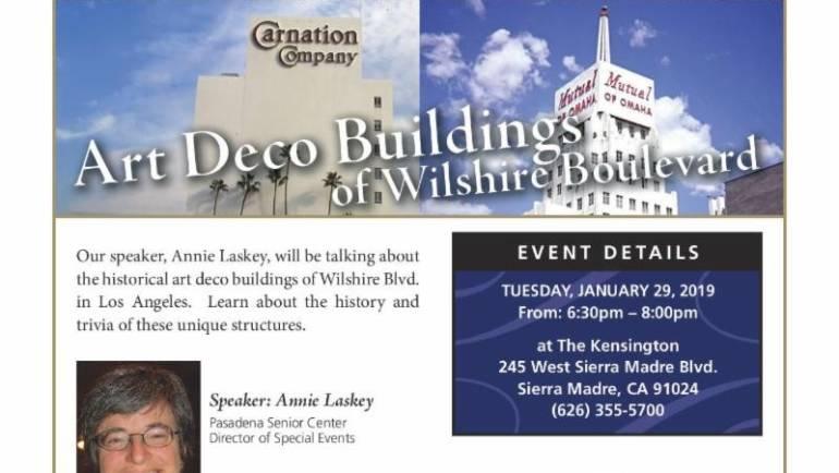The Kensington: Art Deco Buildings of Wilshire Blvd