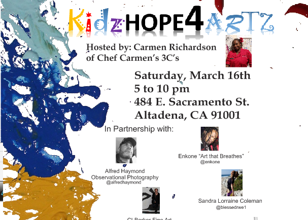 Chef Carmen hosts KidzHope4Artz event benefiting CASA of Los Angeles