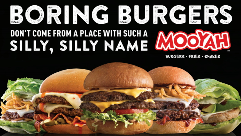 Avoid boring burgers at Mooyah Monrovia