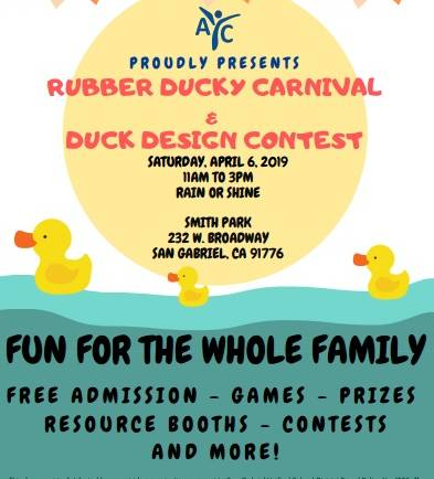 Asian Youth Center Rubber Ducky Carnival