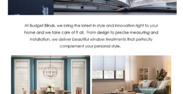 Budget Blinds; Your Windows, Our Expertise!