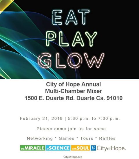 City of Hope Annual Multi-Chamber Mixer