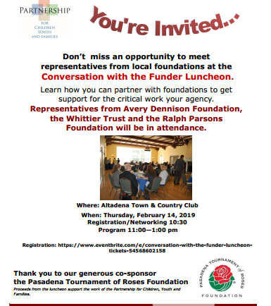 Join Options for Learning at Funder Luncheon