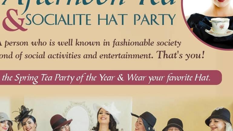 Vintage Treasures Spring Tea & Hat Socialite Party