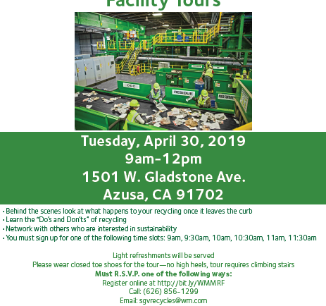 Waste Management Recycling Plant Tour