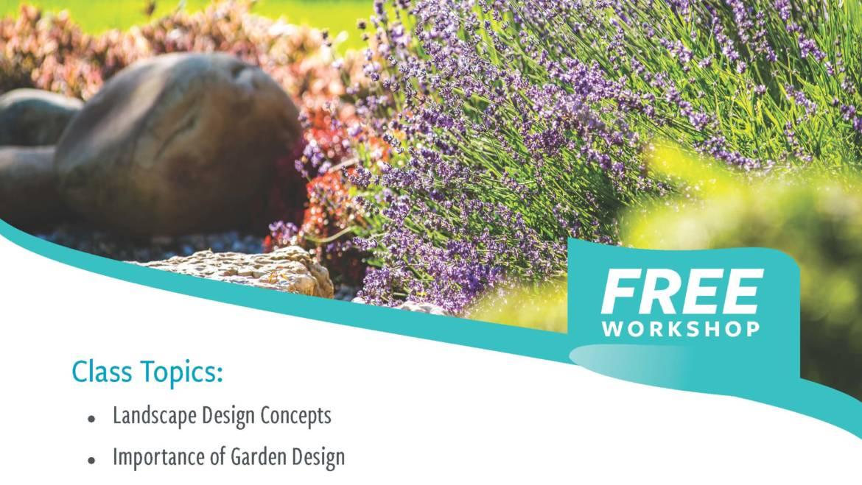 Upper San Gabriel Valley Water District presents a Free Garden Design workshop