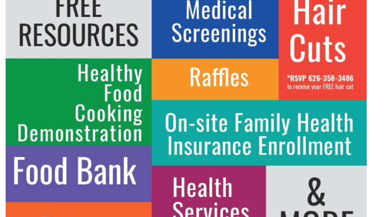 Foothill Unity Center Health and Resource Fair