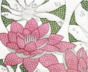 Colors of India Artwork at Gilb Museum