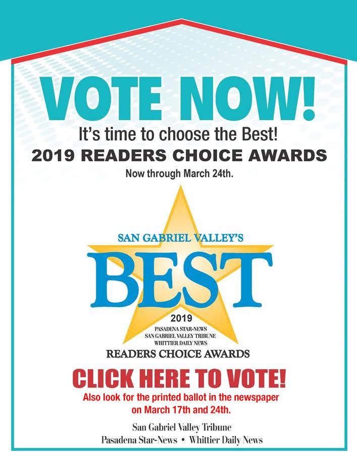 San Gabriel Valley Readers' Choice Awards