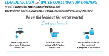 Leak Detection and Water Conservation Training with Upper San Gabriel Valley Water District