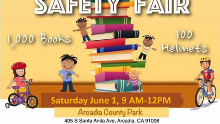 Kiwanis Book and Bike Safety Fair