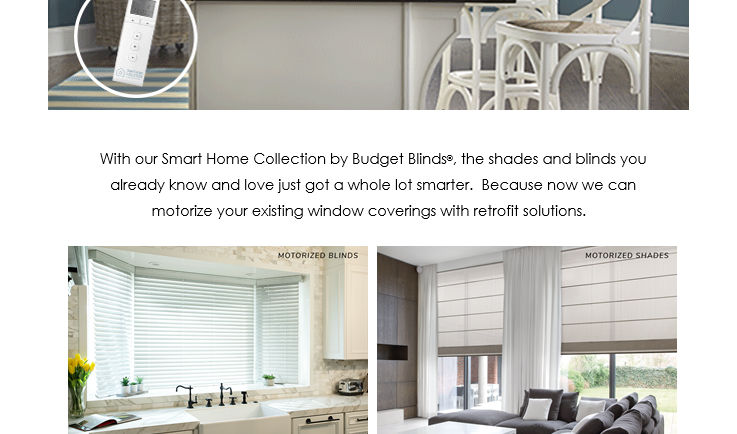 Everyday Life just got Easier with Budget Blinds