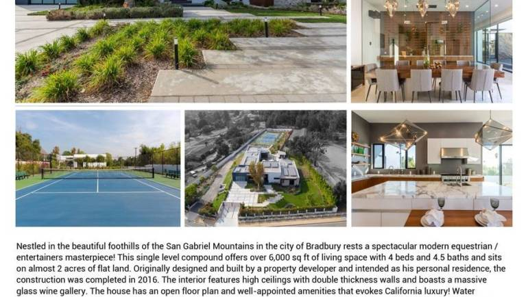 Spectacular Compound for sale from Christian Stillmark of Coldwell Banker