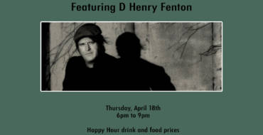 D Henry Fenton at City Cafe