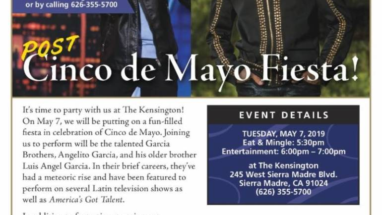 The Kensington: Post Cinco de Mayo Fiesta