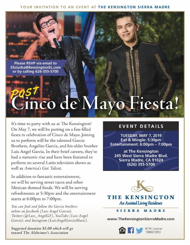 The Kensington: Post Cinco de Mayo Fiesta