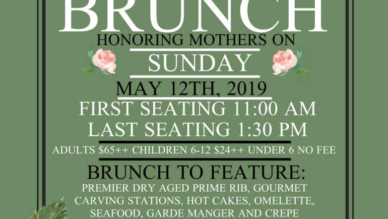 Mother's Day at University Club of Pasadena