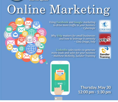 Online Marketing Lunch with SGV Economic Partnership