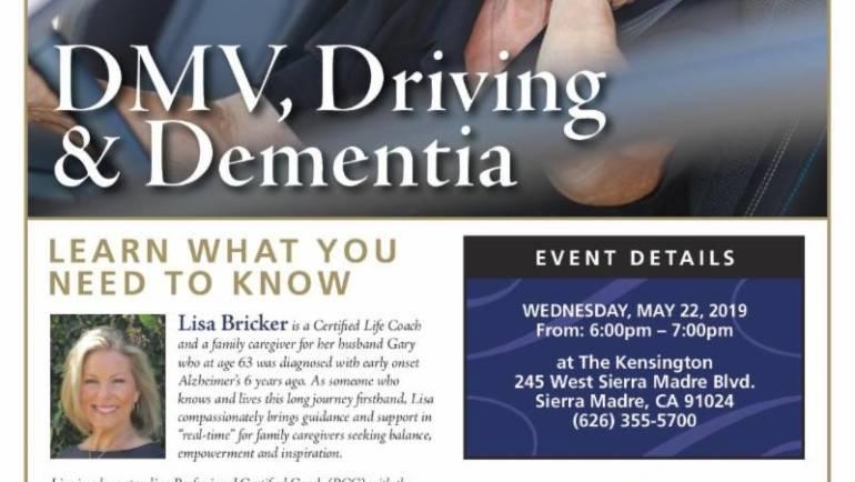 The Kensington: DMV, Driving & Dementia