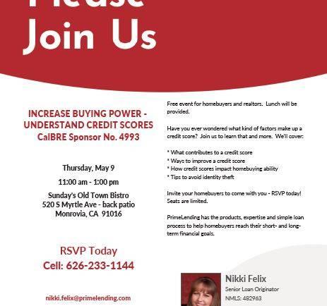PrimeLending Homebuyers and Realtors seminar